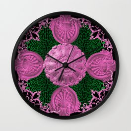 Preppy Baroque Wall Clock