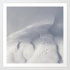 Planet Snow 2 Art Print