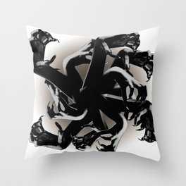 Claws Attack  Throw Pillow