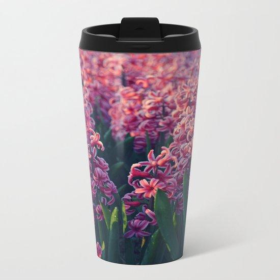 Hyacinth field #2 Metal Travel Mug