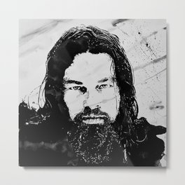 DiCaprio The revenant Metal Print