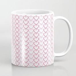 Dotted Hearts Coffee Mug
