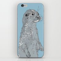 otter iPhone & iPod Skins featuring Otter by caseysplace