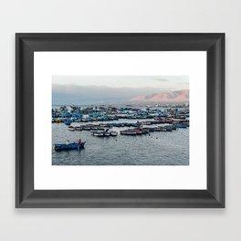 South Perú Framed Art Print