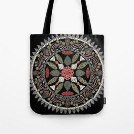 Jaipur Medallion Graphite Tote Bag