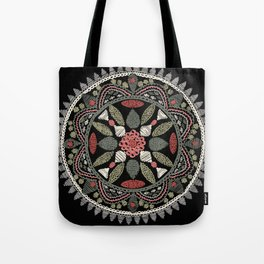 Jaipur Medallion Graphite Tote Bag
