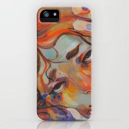 Mermaid Print iPhone Case