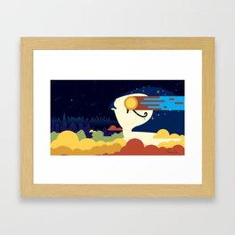 Watchful Eye of Heru Framed Art Print