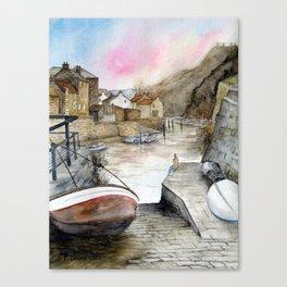 Staithes Canvas Print