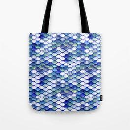 Mermaid Tale Pattern Tote Bag