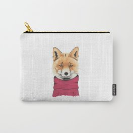 Sophisticated Fox Carry-All Pouch