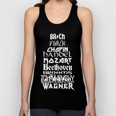 Composers Unisex Tank Top