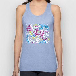 Mazed and Confused Unisex Tank Top