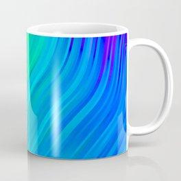 stripes wave pattern 3 std Coffee Mug