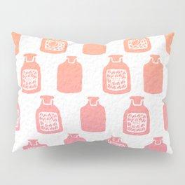 ROSE PERFUME BOTTLES - PEACH / PINK OMBRE Pillow Sham