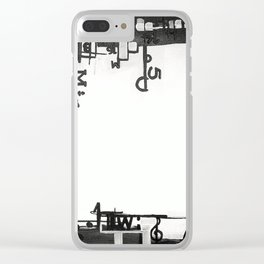 TYPOGRAPHiKA Clear iPhone Case