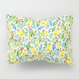 Love Birds Pattern Pillow Sham