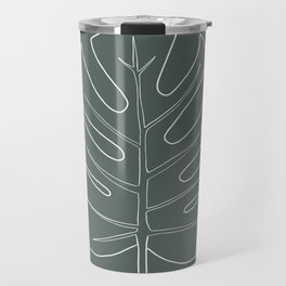 monstera Travel Mug