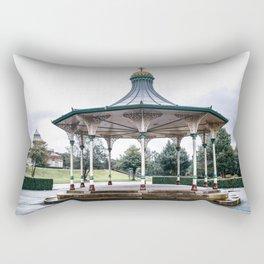 The Bandstand, Wigan Park Rectangular Pillow