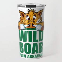 Wild Boar from Arkansas! Travel Mug