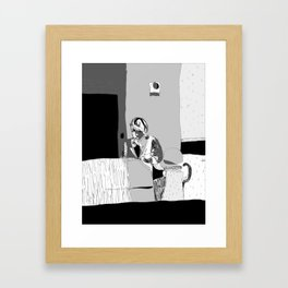 A Question on Your Plate Framed Art Print