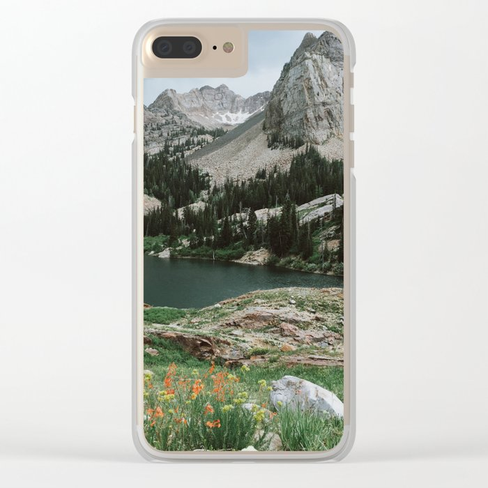 Lake Blanche Clear iPhone Case