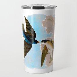 White-bellied Swallow Bird Travel Mug