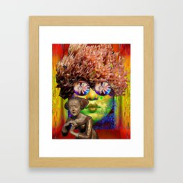 Something is Coming Framed Art Print