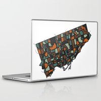 toronto Laptop & iPad Skins featuring Toronto by BigRedSharks