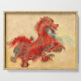 Flying Passion Dragon Serving Tray