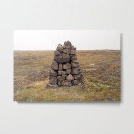 Vörður Metal Print