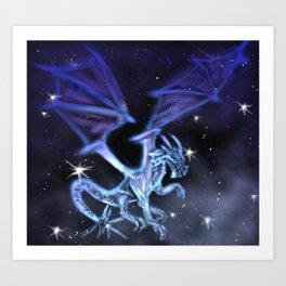 Cosmic Dragon Art Print