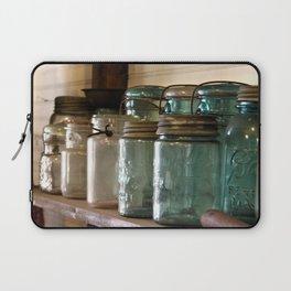Pioneer Pathways: Canning Jars Laptop Sleeve