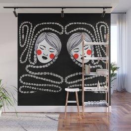 Braids Wall Mural