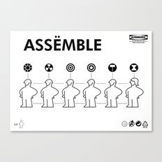 The Avengers X IKEA Mashup Canvas Print
