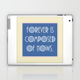 Emily Dickinson quote. Laptop & iPad Skin