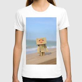Danbo on the beach T-shirt