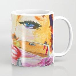 Legends - Ford Thunderbird and MarilynMonroe Coffee Mug