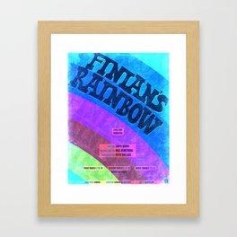 Finian's Rainbow Poster Framed Art Print