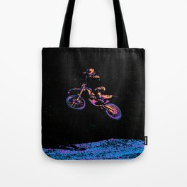 AIR TIME - Motocross Sports Art Tote Bag