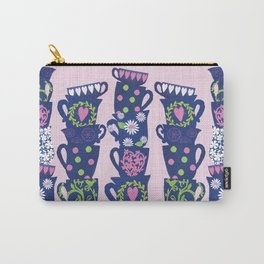 girly teacups Carry-All Pouch