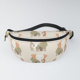 Whimsical Elephant Fanny Pack