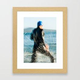 Triathlete 1 Framed Art Print