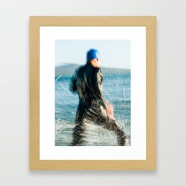 Triathlete 1 Framed Art Print