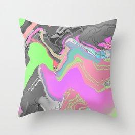 Meshwave Throw Pillow
