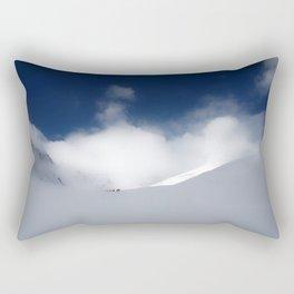 White Mountain Winter Rectangular Pillow