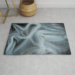 Digital abstract art Rug