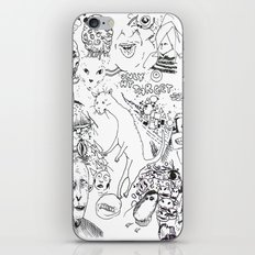 Unitled (180) iPhone & iPod Skin