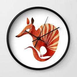 Numbat Wall Clock
