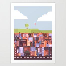 Fresh Air Art Print